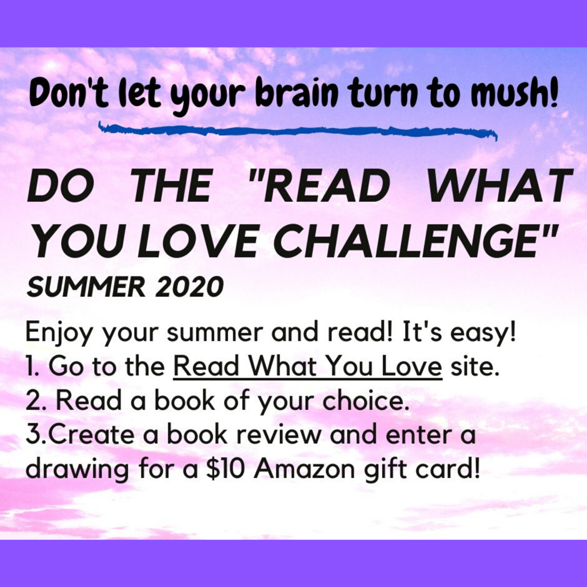 read what you love challenge