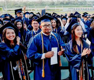 Gabrielino students pose for a picture