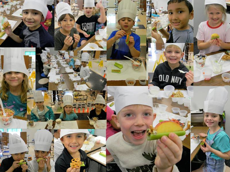 1st Graders Prove Snacking Can be Healthy! Thumbnail Image