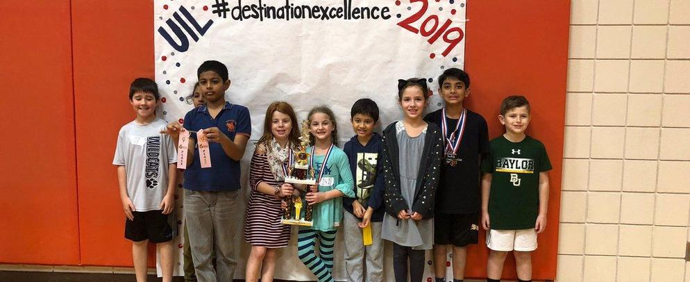 Congratulations to all our WCES UIL Winners!