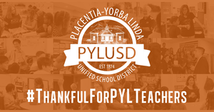 Thankful for PYL Teachers graphic.