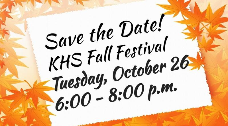 KHS Fall Festival Featured Photo