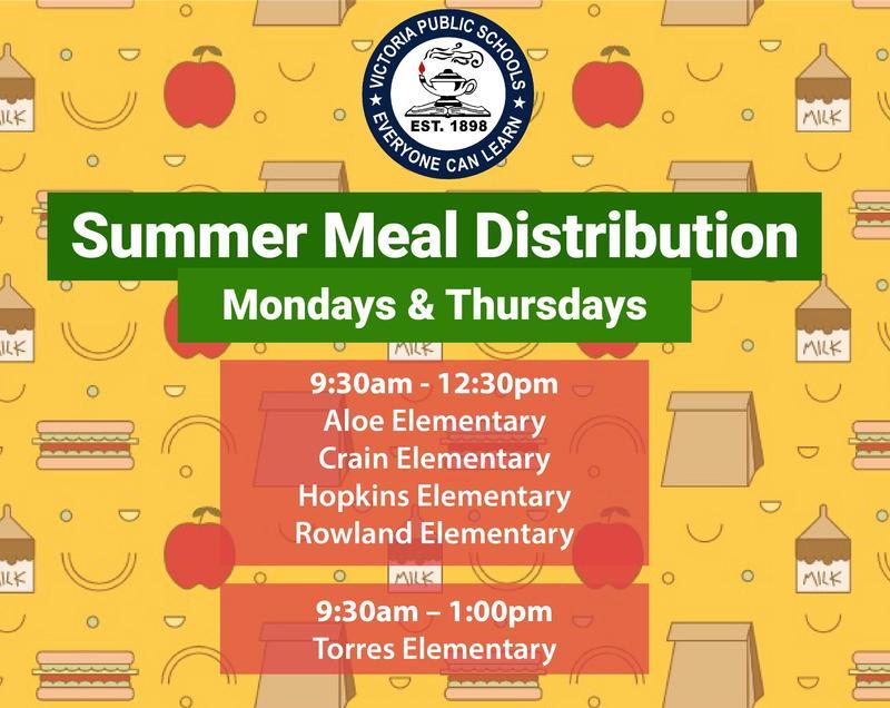 Summer Meal Distribution Begins Monday, June 1 Thumbnail Image