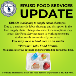 Food Services English