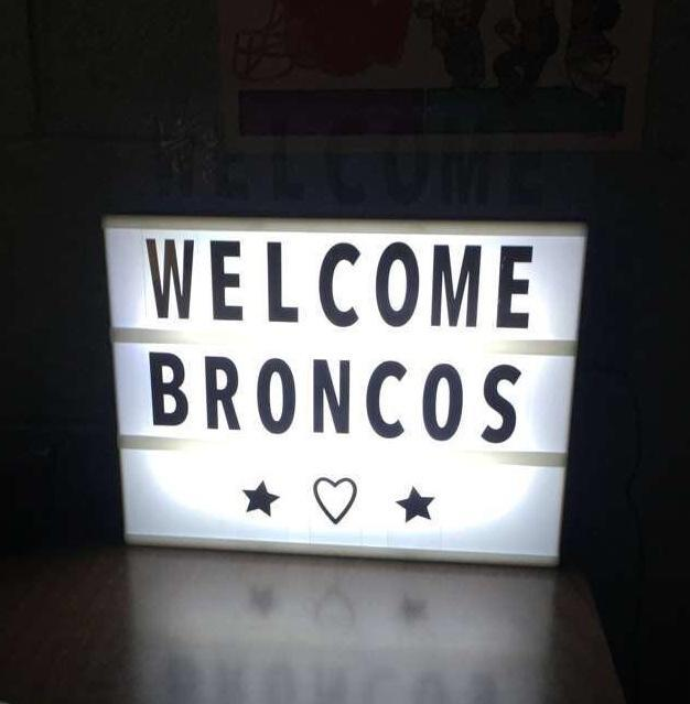 Welcome Broncos!