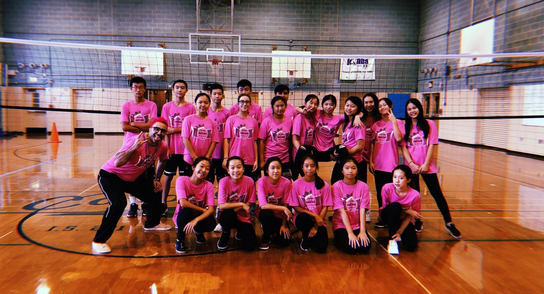 I.S. 281 Joseph B. Cavallaro - Volleyball Team
