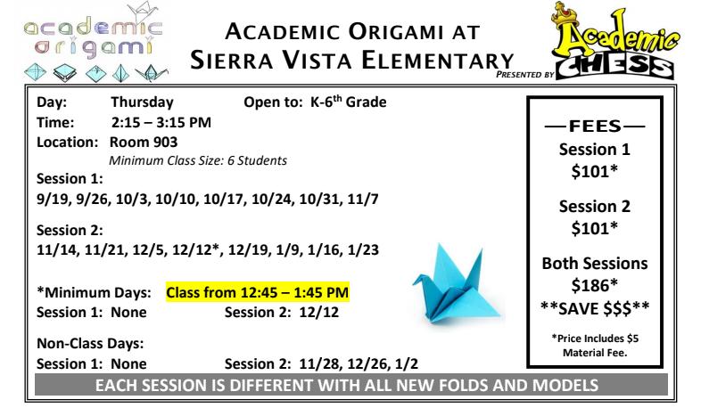 Academic Origami