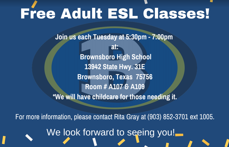 Free ESL Classes on Tuesdays Featured Photo