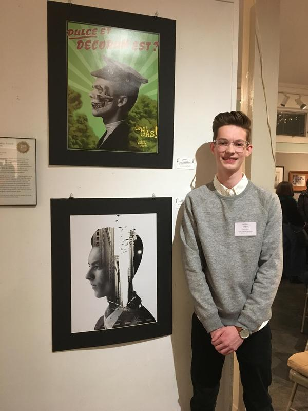 2nd Place WAA Visual Arts Scholarship Winner Chase Goulet Featured Photo