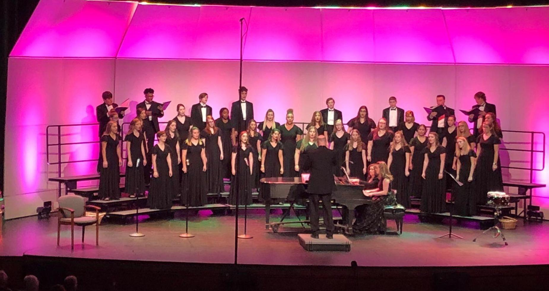 GHS Chorus Christmas Concert Picture