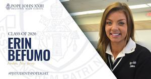 PJ Student Spotlight Erin Befumo