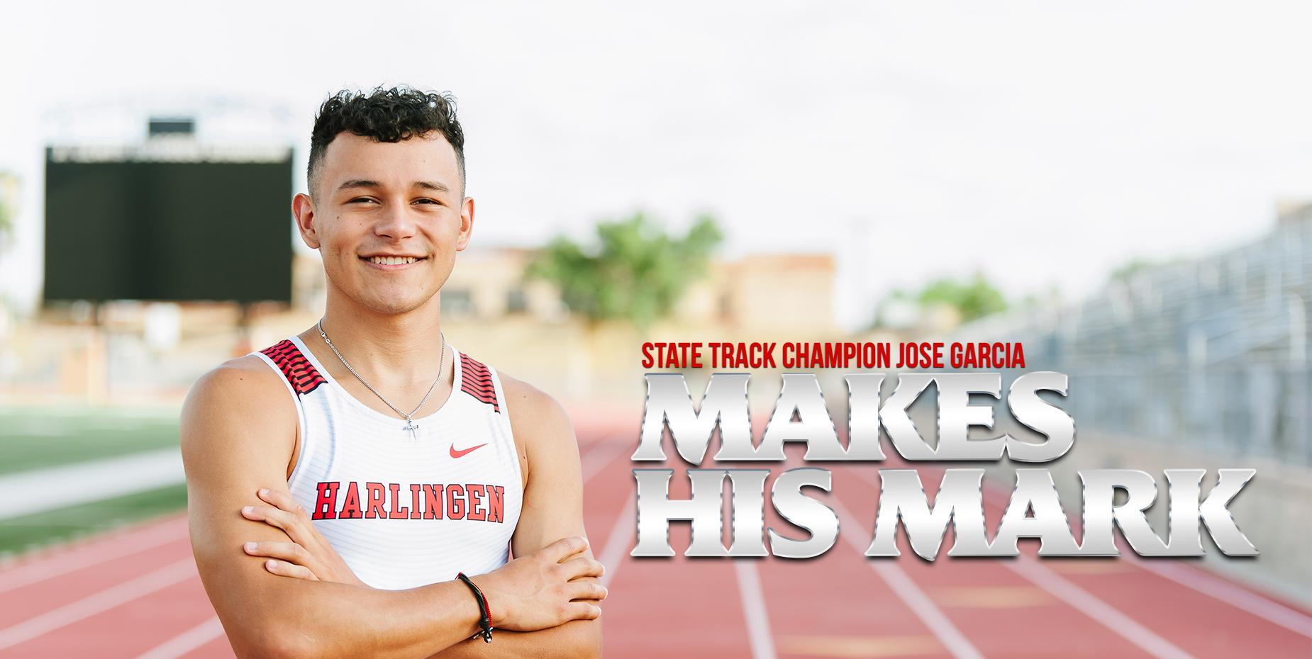 State track champion Jose Garcia makes his mark