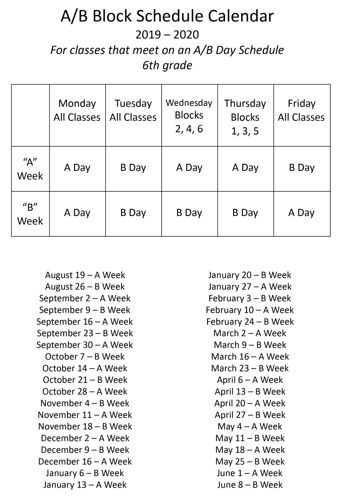 A_B Schedule 2019_2020