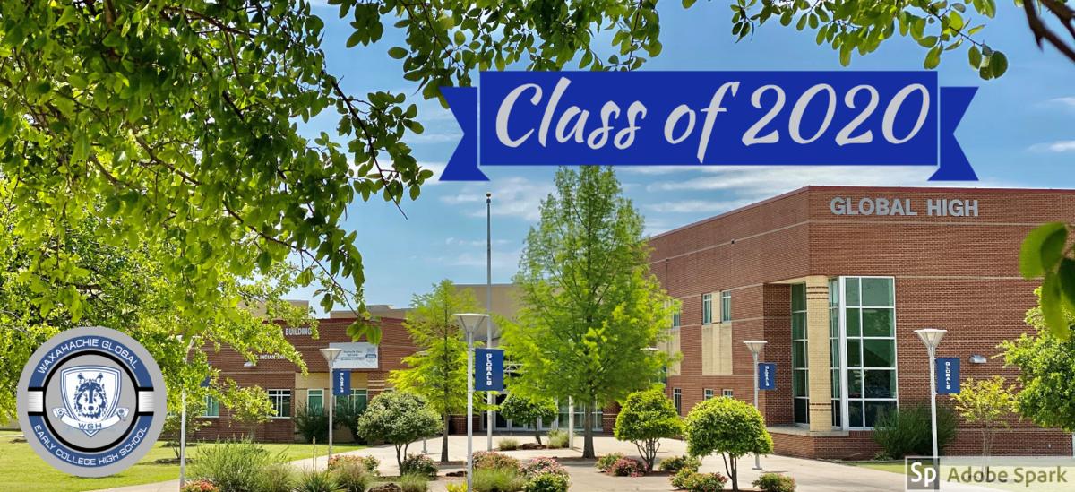 exterior of global high school