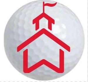 GOLF BALL WITH WISH LOGO