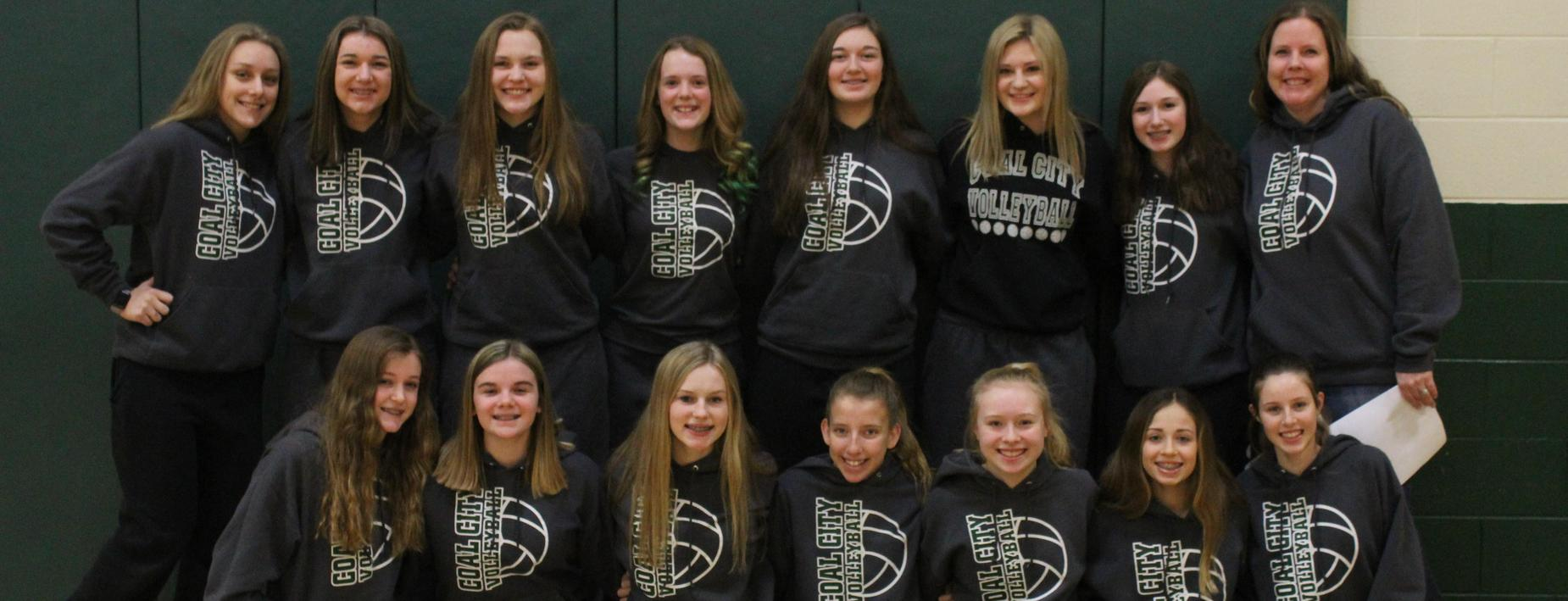 good luck at state CCMS 8th grade volleyball