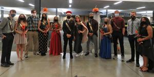 The TKHS 2020 Homecoming Court.