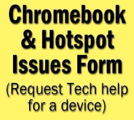 Chromebook & Hotspot Issues