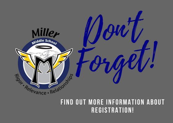 Don't Forget, Registration Information
