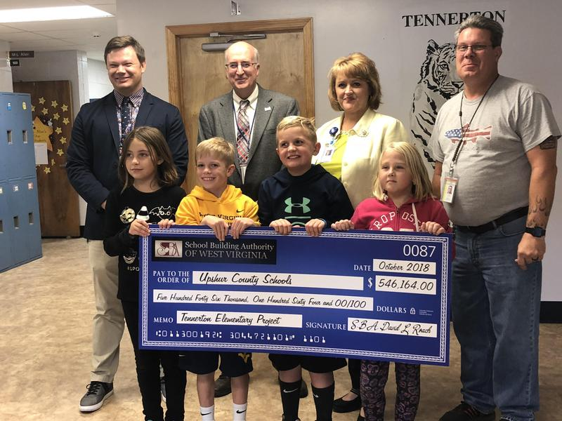 WVSBA awards Tennerton Elementary School $546,146.00