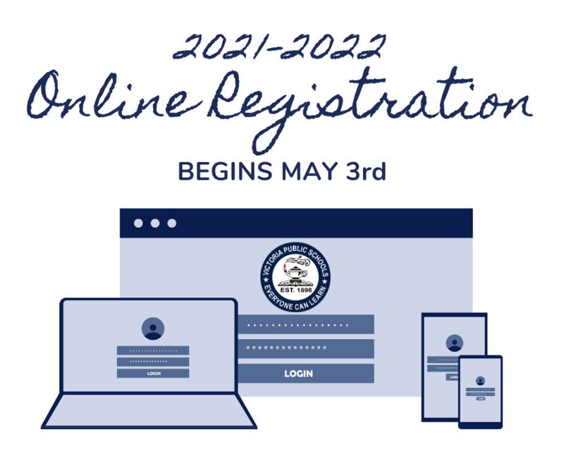 Online Student Registration for 2021-2022 School Year Begins May 3 Thumbnail Image