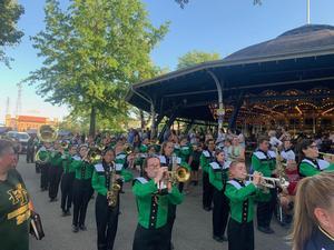 marching band at Kennywood