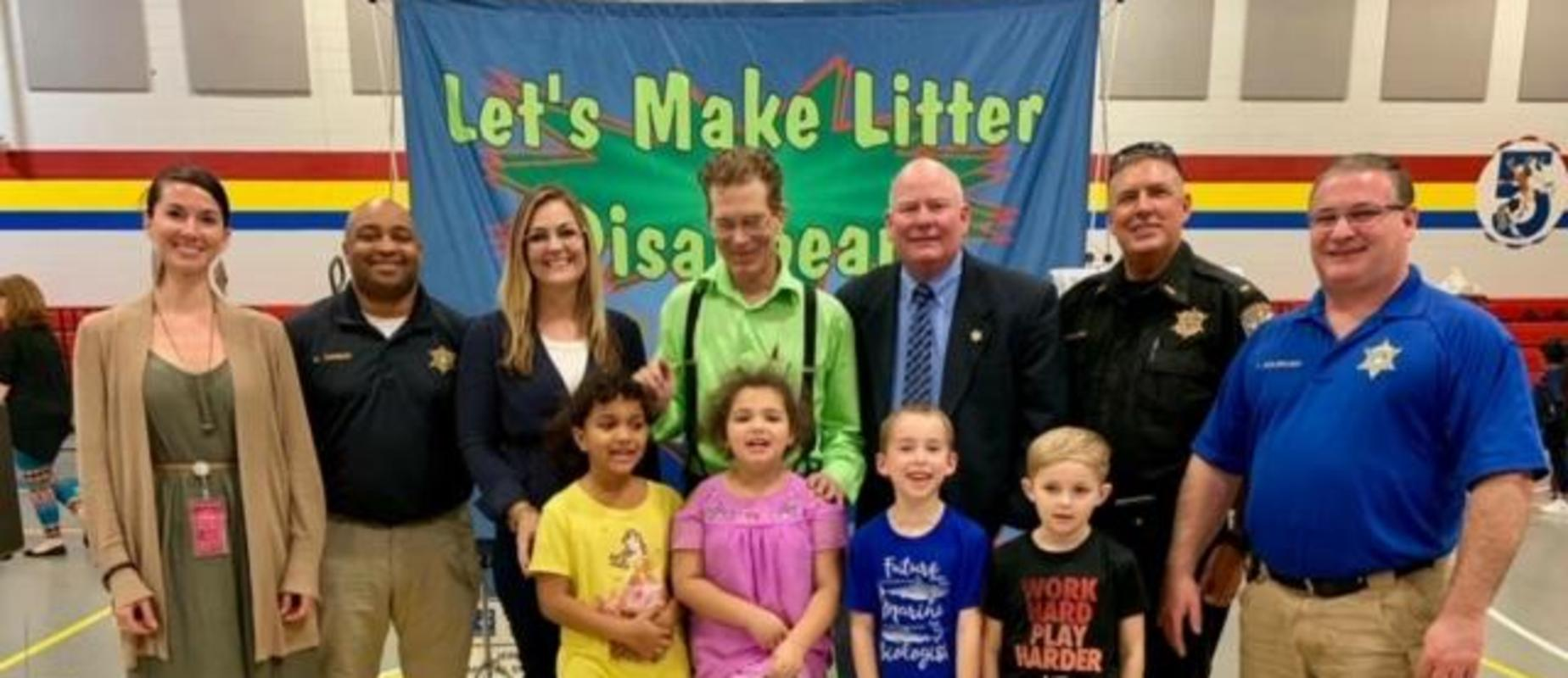 Litter Prevention Assembly