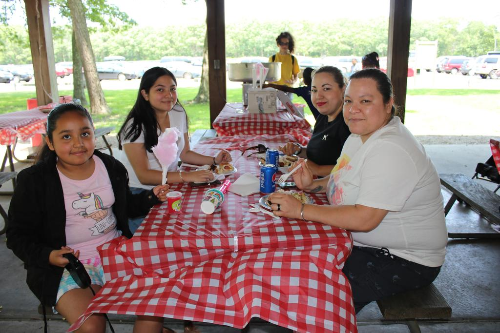 Guests at DDI Employee Picnic