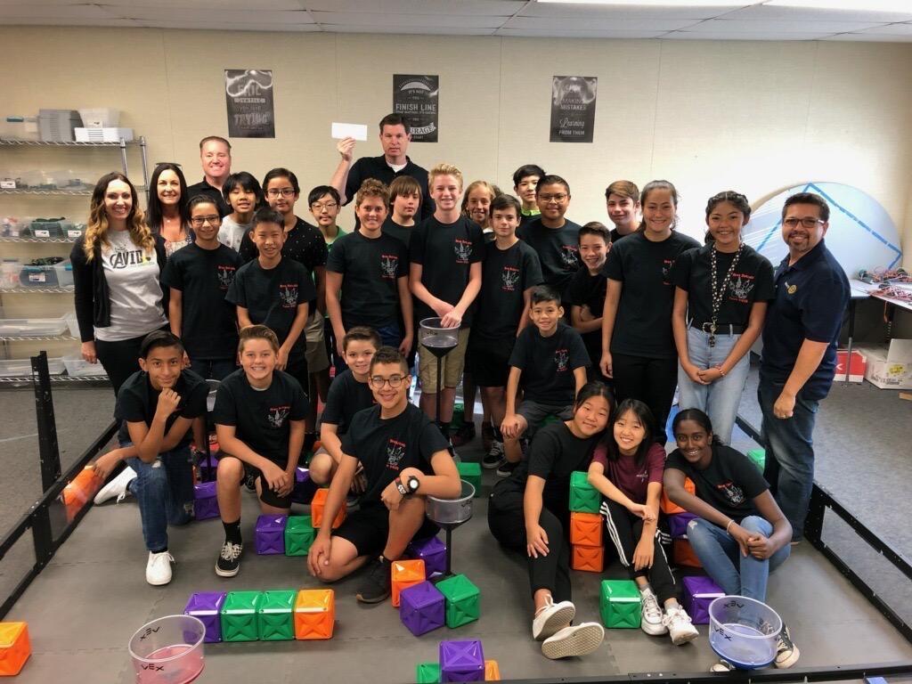 Robotics classroom picture