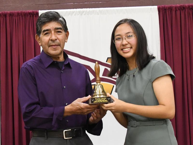 Mia Rodriguez and Jesus Ortiz
