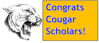 cougar with congrats
