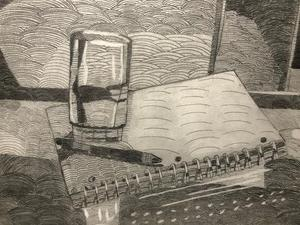 Textured Value Drawing 1