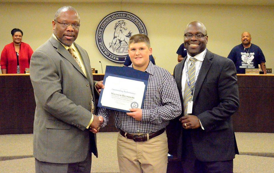 Willy Renolds September student of the month