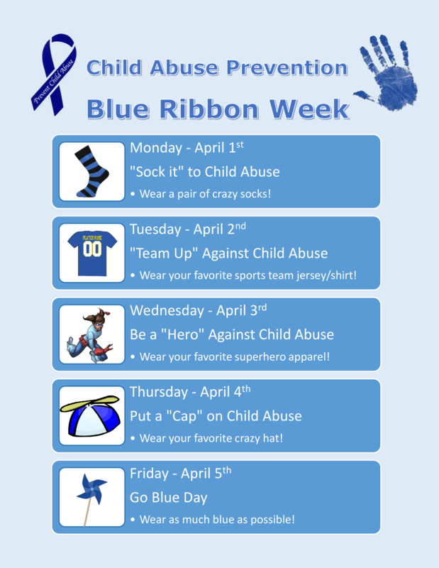blue ribbon week