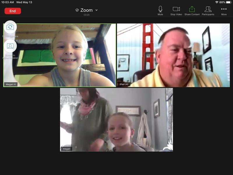 3rd Graders Interview Fr. Donovan for Religion Class! Featured Photo