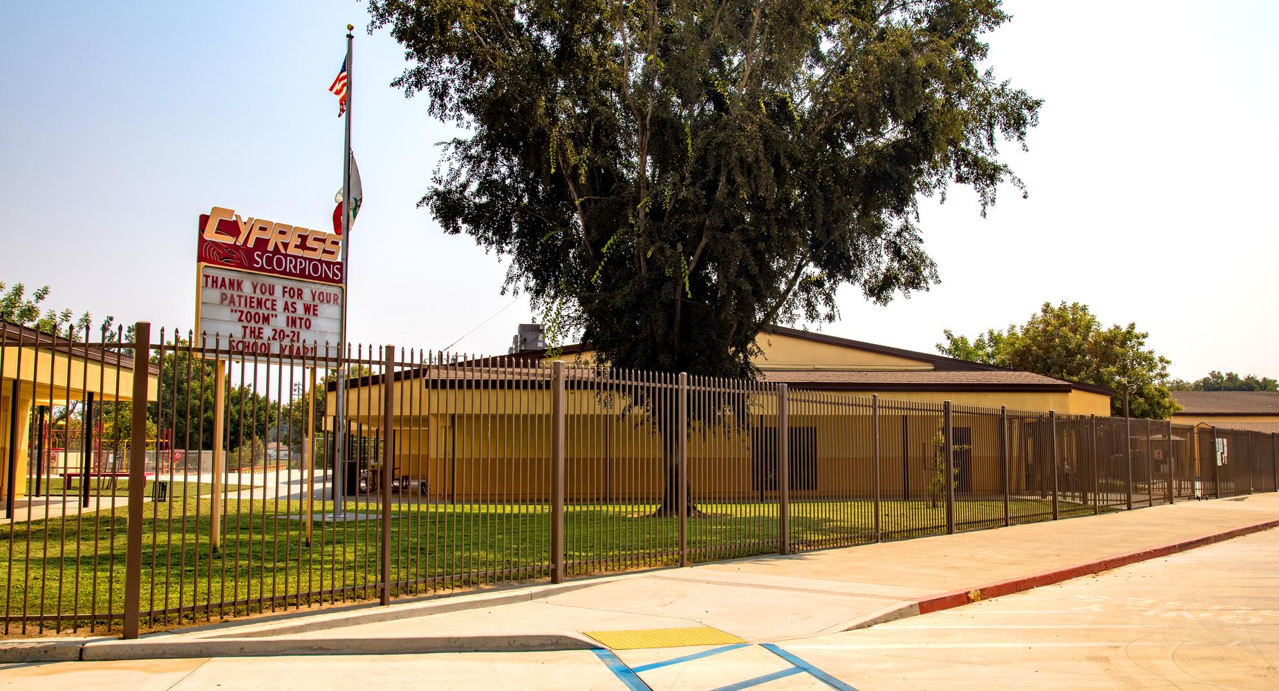 Cypress School Building