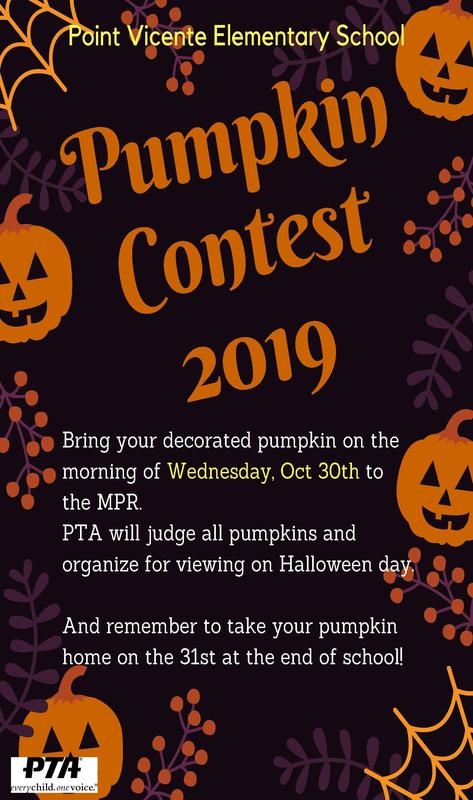 Pumpkin Contest at Point Vicente! Thumbnail Image