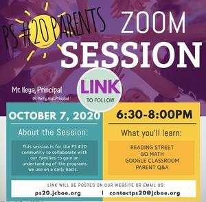 Parent Zoom Information Session