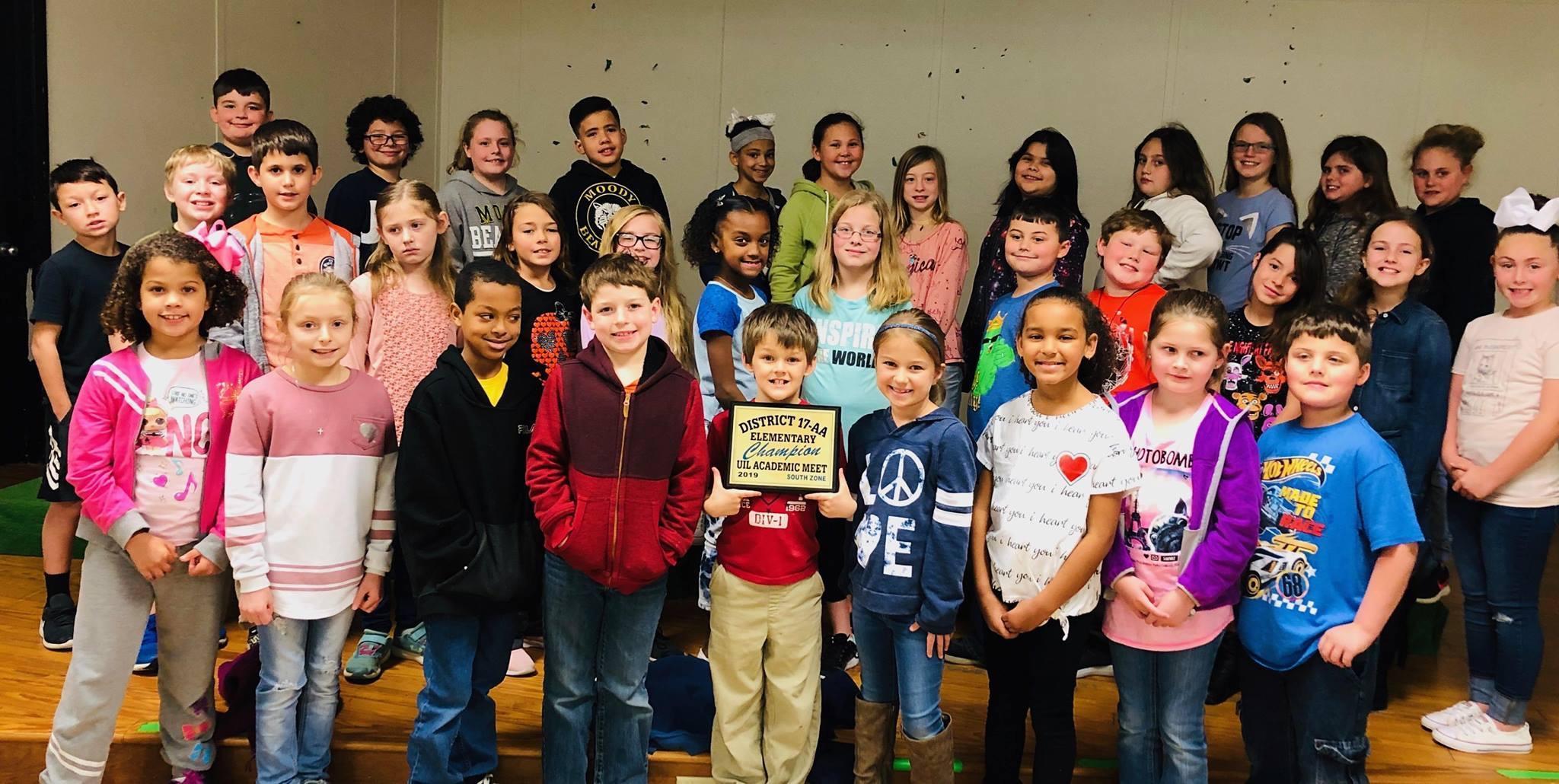 Elementary UIL Winners