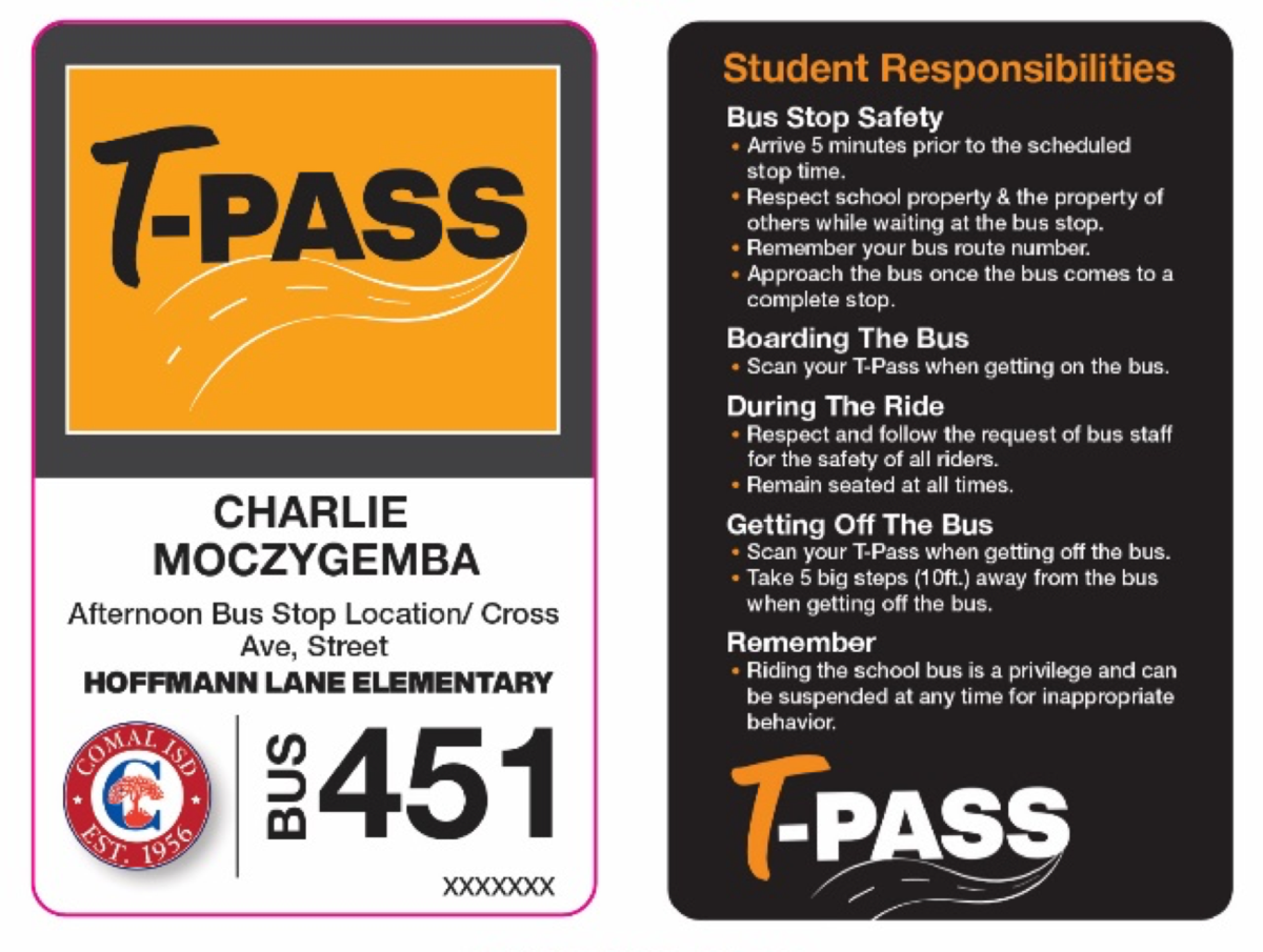 example of a t-pass
