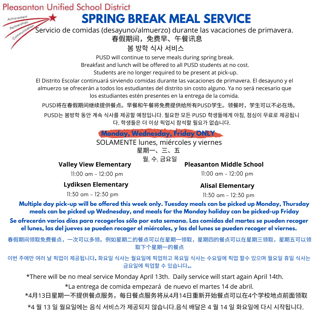 Translated Meal Service