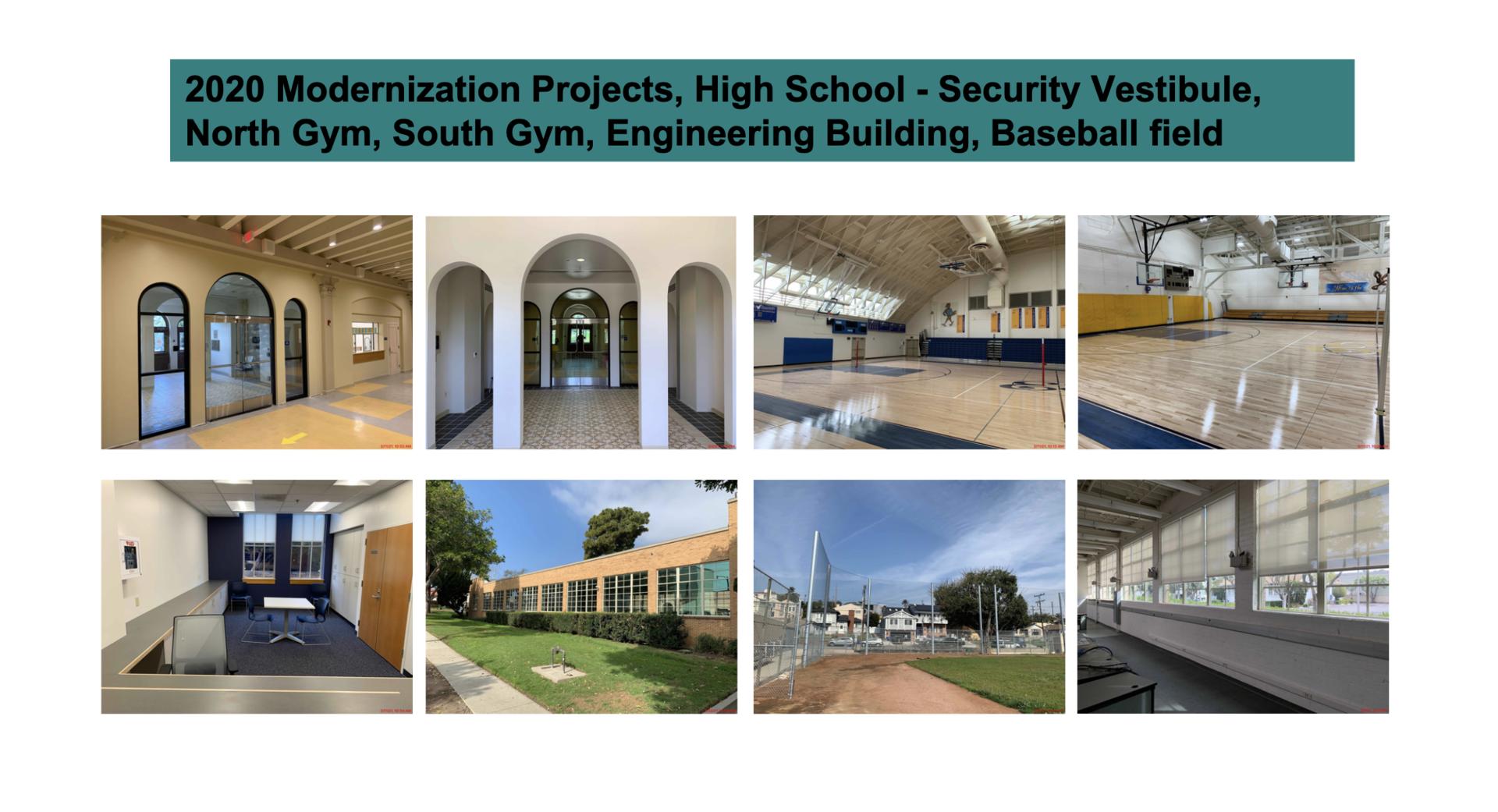 ESHS 2020 Upgrades