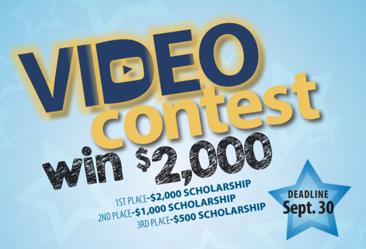 Do you like to make videos? Here is a scholarship opportunity for you! Thumbnail Image