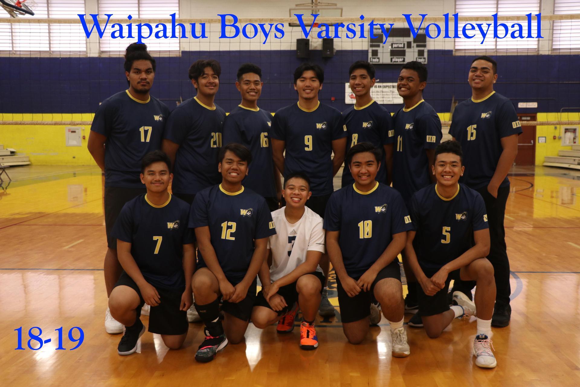 18-19 Volleyball Boys Varsity