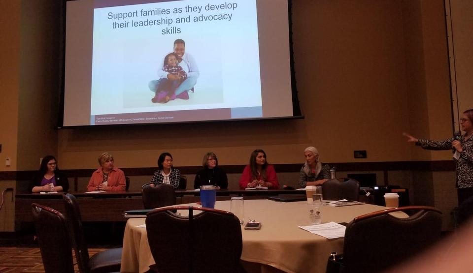 Lori Murtha on Panel 1