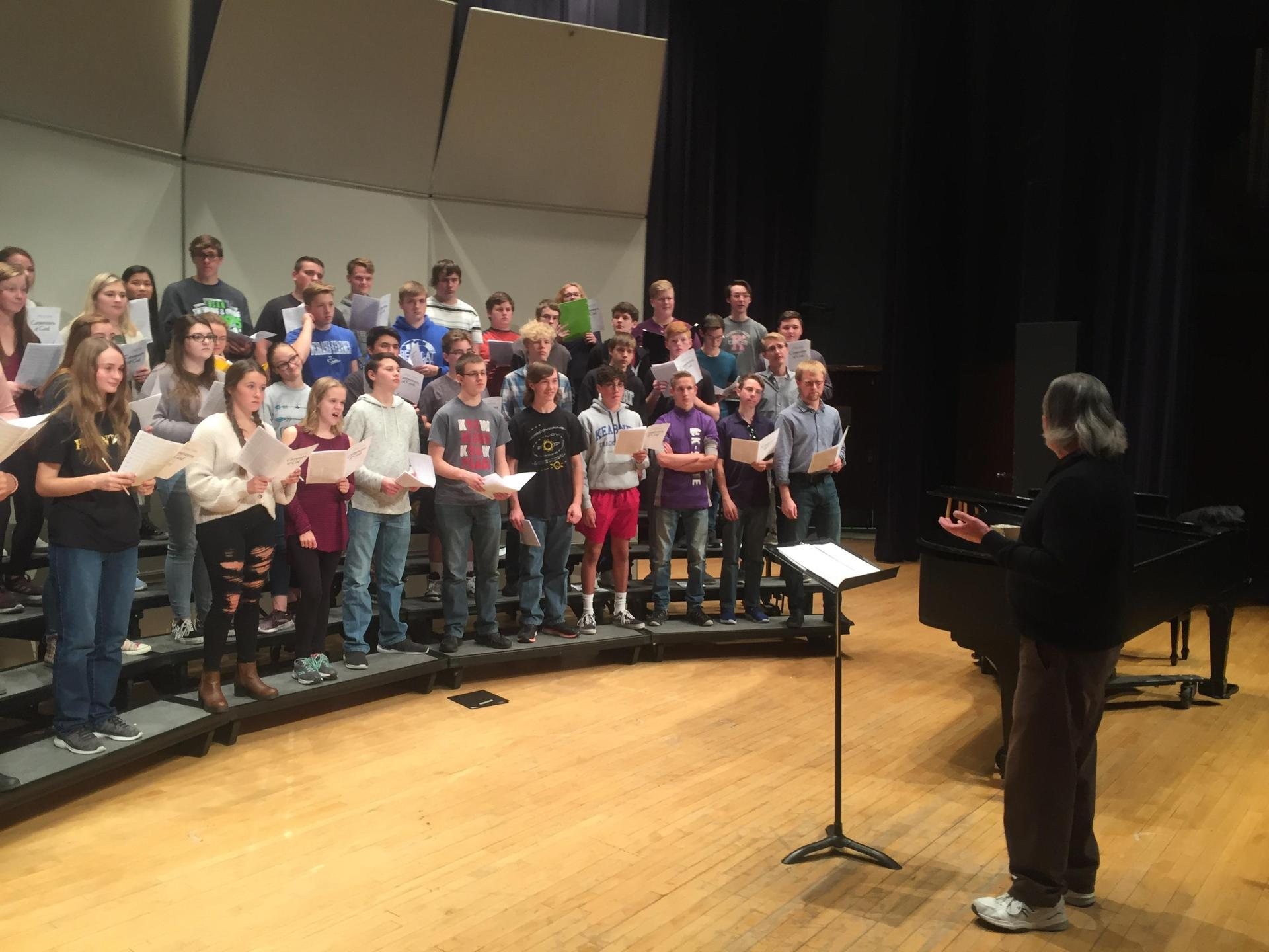 KHS Chorale with Guest Conductor Vijay Singh