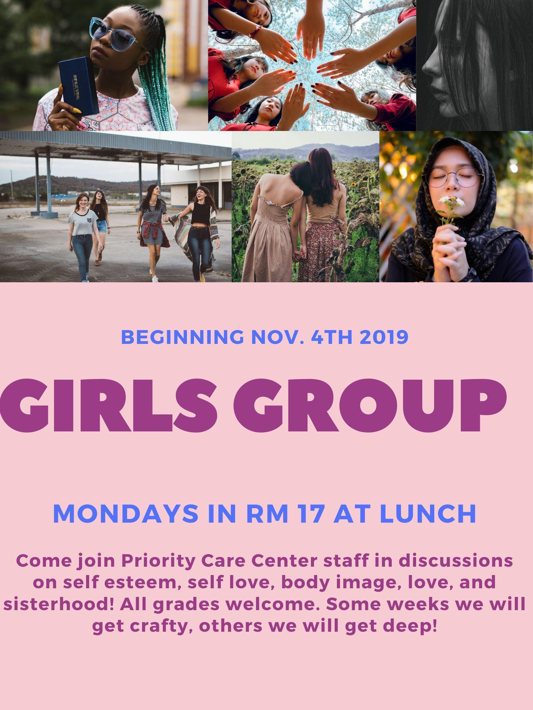 girls group meeting