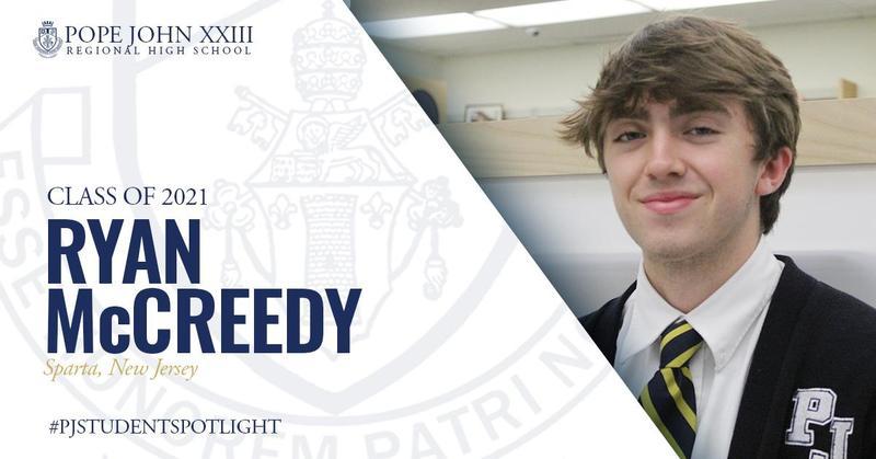 Ryan McCreedy PJ Student Spotlight