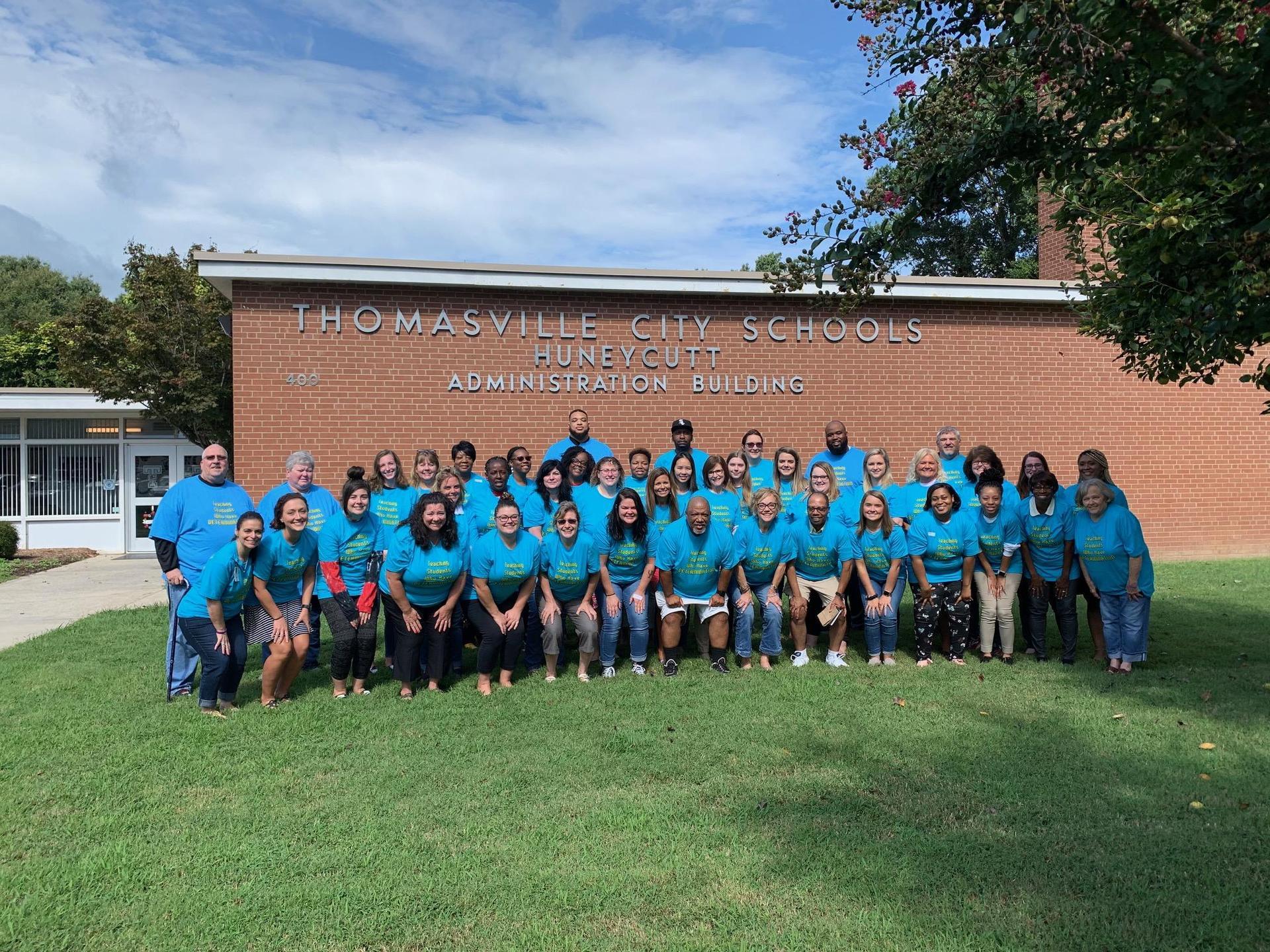 2019-2020 Thomasville City Schools Exceptional Children's Staff