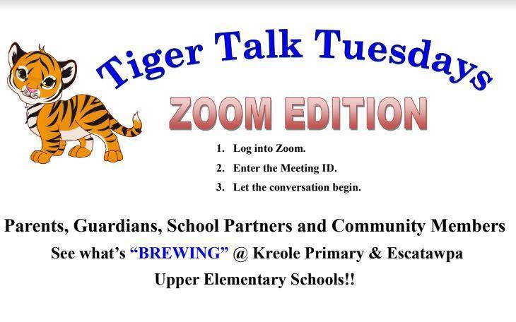 tiger talk flyer